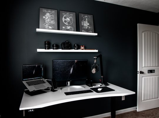 staging your space for video recording
